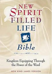 Cover of: New Spirit-Filled Life Bible