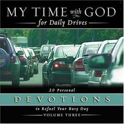Cover of: My Time with God for Daily Drives | Nelson Bibles
