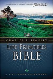 Cover of: The Charles F. Stanley Life Principles Bible (Black)