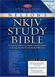 Cover of: Nelson's NKJV Study Bible
