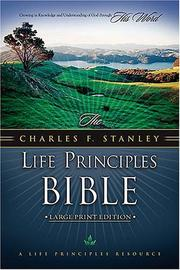 Cover of: Life Principles Bible, NKJV