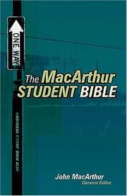 Cover of: MacArthur Student Bible - Personal Size