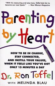 Cover of: Parenting by Heart