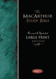 Cover of: The MacArthur Study Bible