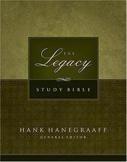 Cover of: The Legacy Study Bible |