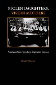 Cover of: Stolen daughters, virgin mothers | Susan Mumm
