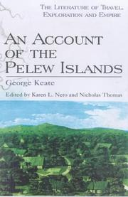 An account of the Pelew Islands by George Keate
