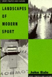 Cover of: Landscapes of modern sport