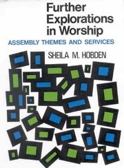 Cover of: Further Explorations in Worship P (Chichester Project) | Sheila M. Hobden