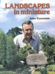 Cover of: Landscapes in Miniature P