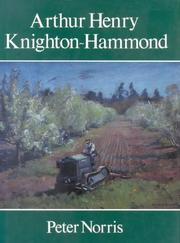Cover of: Arthur Henry Knighton-Hammond