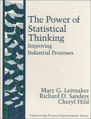 Cover of: power of statistical thinking | Mary G. Leitnaker