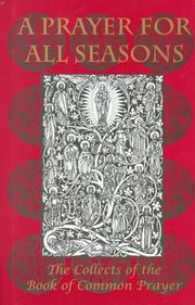 Cover of: Prayer for All Seasons |