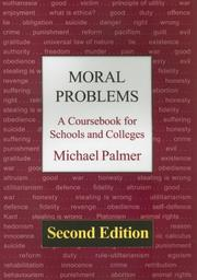 Cover of: Moral Problems