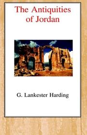 Cover of: The Antiquities of Jordan | Gerald William Lankester Harding