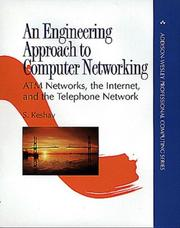 Cover of: An Engineering Approach to Computer Networking