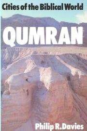 Cover of: Qumran (Cities of the Biblical World)