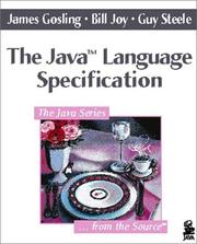 Cover of: The Java language specification