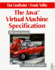 Cover of: The Java virtual machine specification