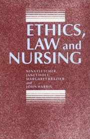 Cover of: Ethics, law, and nursing