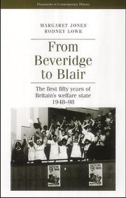 Cover of: From Beveridge to Blair |
