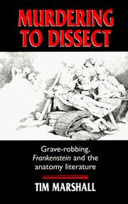 Murdering to Dissect by Tim Marshall