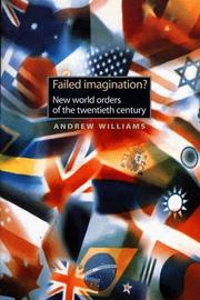 Cover of: Failed Imagination? | Andrew Williams