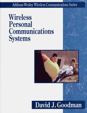 Cover of: Wireless personal communications systems