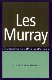 Cover of: Les Murray