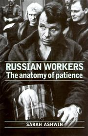 Cover of: Russian workers
