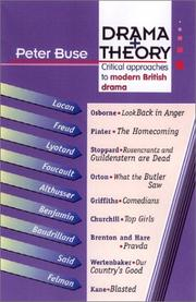 Cover of: Drama + Theory | Peter Buse