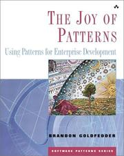 Cover of: The Joy of patterns