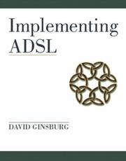 Cover of: Implementing ADSL