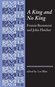 Cover of: A king and no king