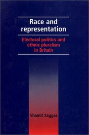 Cover of: Race and representation