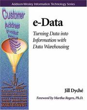 Cover of: e-Data