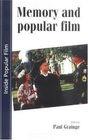 Cover of: Memory and popular film | edited by Paul Grainge.