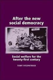Cover of: After the New Social Democracy | Tony Fitzpatrick