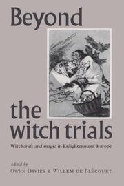 Cover of: Beyond the witch trials by