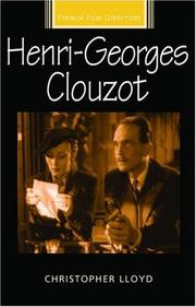 Cover of: Henri-Georges Clouzot (French Film Directors)