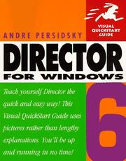 Cover of: Director 6 for Windows