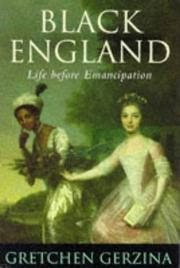 Cover of: Black England