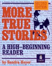 Cover of: More true stories