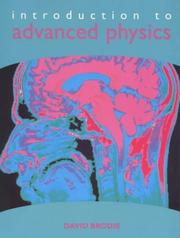 Cover of: Introduction to advanced physics