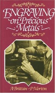 Cover of: Engraving on precious metals |