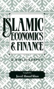 Cover of: Islamic economics and finance