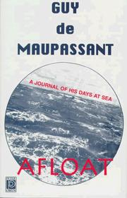 Cover of: Afloat | Guy de Maupassant