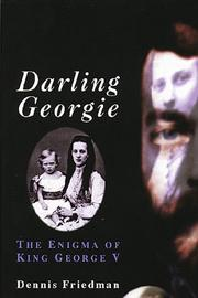 Cover of: Darling Georgie