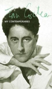 Cover of: My contemporaries: [Translated from the French]