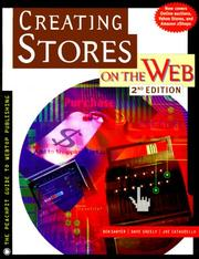 Cover of: Creating stores on the web